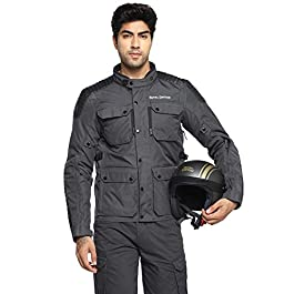 Royal Enfield Khardungla V2 Riding Jacket Grey (S) 38 CM (RRGJKM000073)