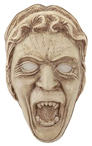 White Ranger Vacuform Mask - elope Weeping Angel Vacuform Mask