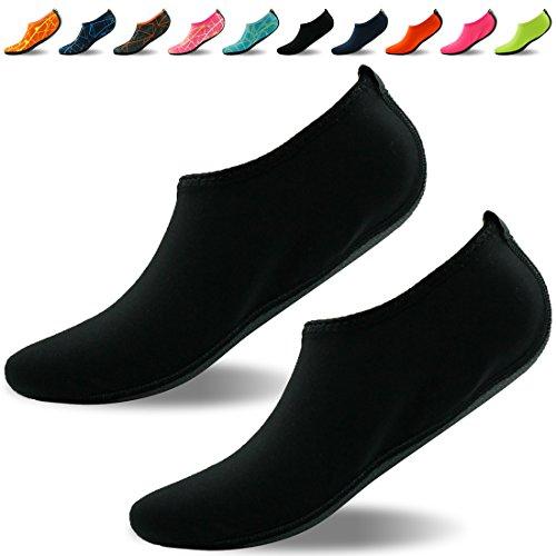 Forfoot Wasser Socken, Unisex Wasser Haut Schuhe Low Top Tauchen  Schnorcheln Neopren Strand Socken Tauchen