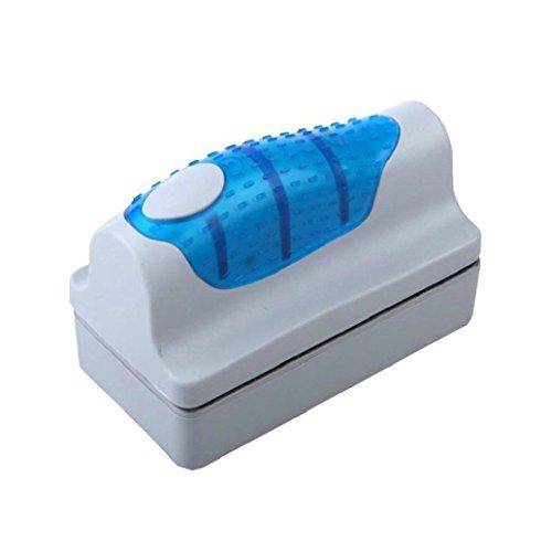 Malloom® magnética Cepillo Raspador limpiador de vidrio para Acuario Pescado tanque algas (pequeña): Amazon.es: Hogar