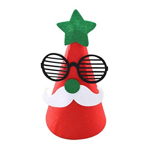 Bescita Weihnachten Santa Dekorationen Cartoon Kinder Ornamente Weihnachtsmütze Kinderhut B 9DTpjbG7