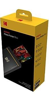 Gold Kodak Mini-Mobil W-LAN /& NFC 4.7 x 7,5 cm Fotodrucker mit fortgeschrittener Sublimations-Tintendrucktechnologie /& Fotokonservierungsschicht Kompatibel mit Android /& iOS.