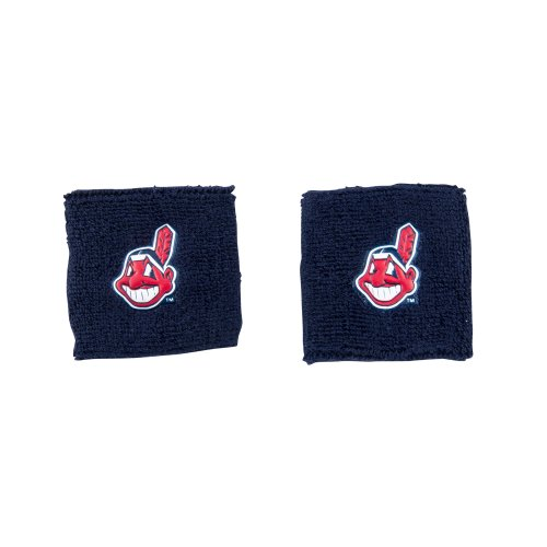 fan products of Franklin Sports MLB Cleveland Indians Team Wristbands
