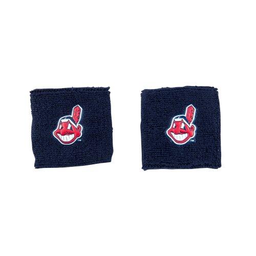 Franklin Sports MLB Cleveland Indians Team Wristbands