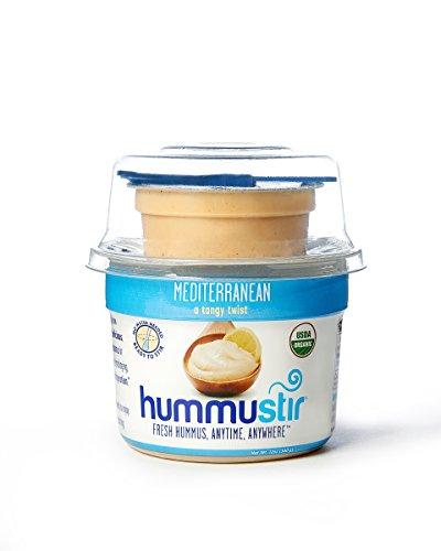 Hummustir, Mediterranean, Organic Fresh Hummus, (Pack of 6, 12oz) by hummustir