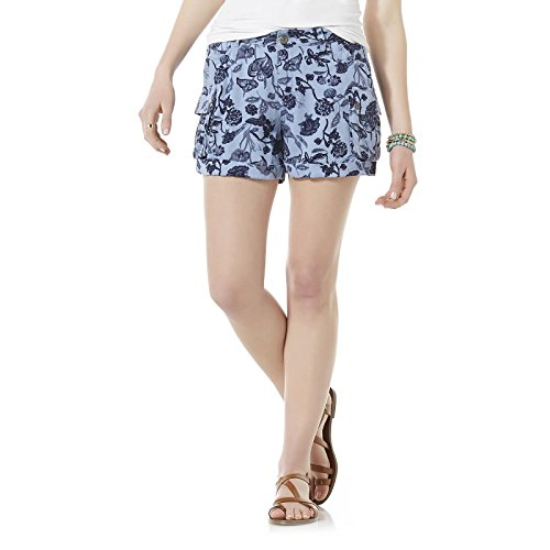 Skirt Adams (Adam Levine Women's Rayon Cargo Shorts, 5/6)