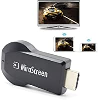 Greatstar WiFi Display Adapter,Free Installation (no APP, no driver) TV Dongle 1080P High Speed HDMI Miracast Dongle Support Multi-screen interactive/DLNA / Airplay / Airplay Mirror / Miracast