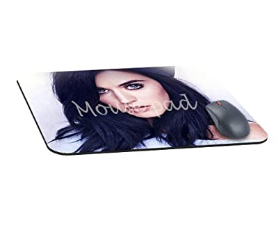 Decorative Mouse Pads Katy Perry Music Artist Singer Mouse Pad Thick 3MM Non Slip Gaming Mousepad Home and Office In 8.7X7.1In
