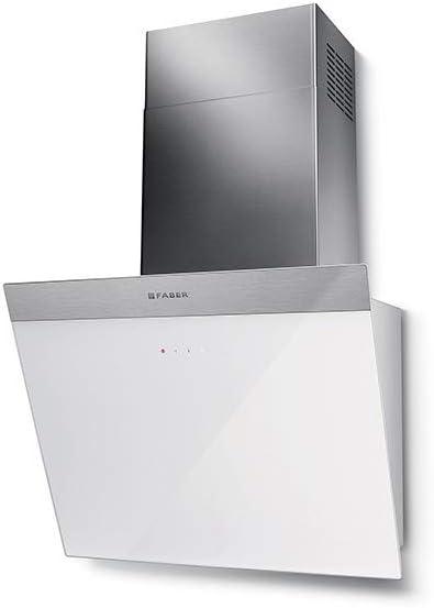Faber DAISY - Campana extractora de pared (55 cm), color blanco: Amazon.es: Grandes electrodomésticos