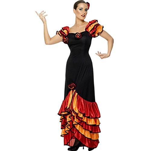 Rumba Halloween Costume (Ladies Classic Rumba Halloween Costume (Size: Small 6-8))