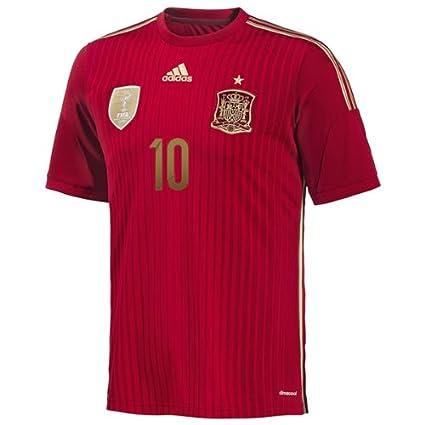 Adidas FABREGAS #10 España Camiseta 1ra Copa Mundial (M): Amazon.es: Deportes y aire libre