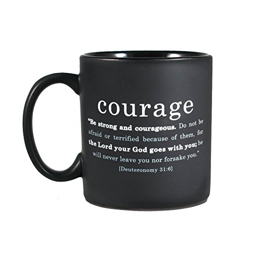 Lighthouse Christian Products Courage Ceramic