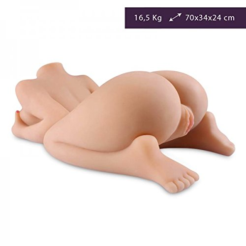 Super-Size 36-Pound Silicone Sex Doll - Masturbádor Hombre - Masturbádor Masculino - Vagina y Ano Realista by Love and Vibes