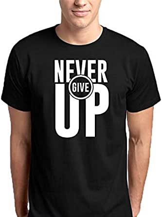 تي شيرت Never Give Up