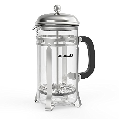 Tea And Coffee Maker French Press Coffee Plunger : Classic French Press, Nuovoware 0.88 Quart Triple Filter French Press / Coffee & Tea Maker ...