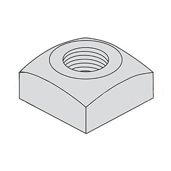 Square Nuts 600 pcs Steel 1//2-13 Hot Dip Galvanized