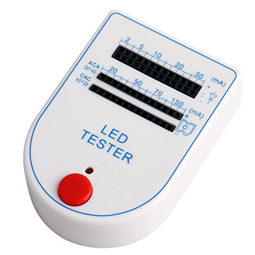 Kangnice Mini Handy 2~150mA LED Test Box Tester For Light-emitting Diode Lamp Bulb