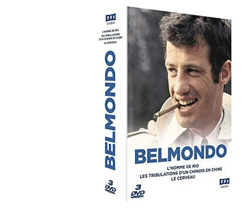 - Belmondo - Coffret L'Homme de Rio + Les Tribulations d'un Chinois en Chine + Le Cerveau