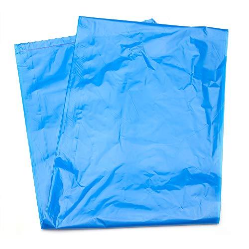 MediChoice Hospital Linen Bag, w/Reinforced Seams, Non-Printed, High Density, Polyethylene, 20-30 Gallon, 31x43 Inch, 14 Micron, Blue 1314Z6143HXO (Case of ()