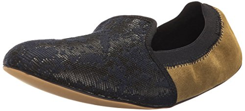 Daniel Green Women's Lucca Slipper Navy