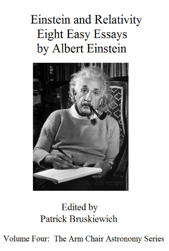 Apa Format For Essay Paper Einstein And Relativity  Eight Easy Essays By Albert Einstein The Arm  Chair Astronomy Series Book  Patrick Bruskiewich  Amazoncom Argumentative Essay Thesis Statement Examples also Essay Paper Writing Einstein And Relativity  Eight Easy Essays By Albert Einstein The  Essay On Library In English