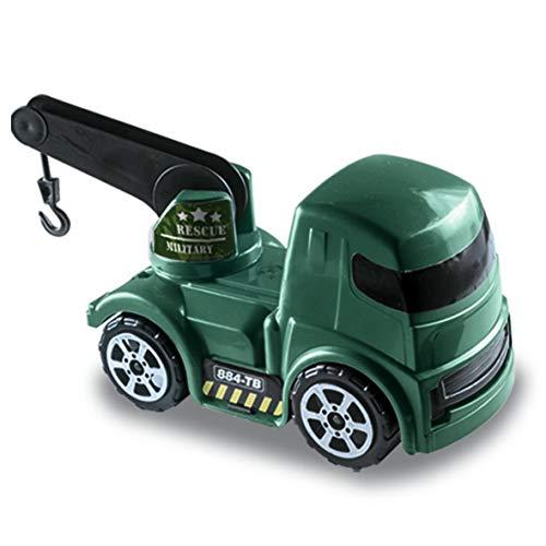 Caminhão Guincho Militar, Zucatoys, Verde
