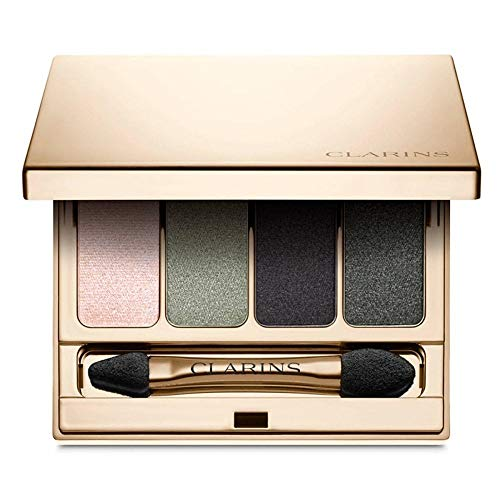 Clarins 4 Colour Eyeshadow Palette - Shade Forest 06 (Eyes Color Quartet For Clarins)