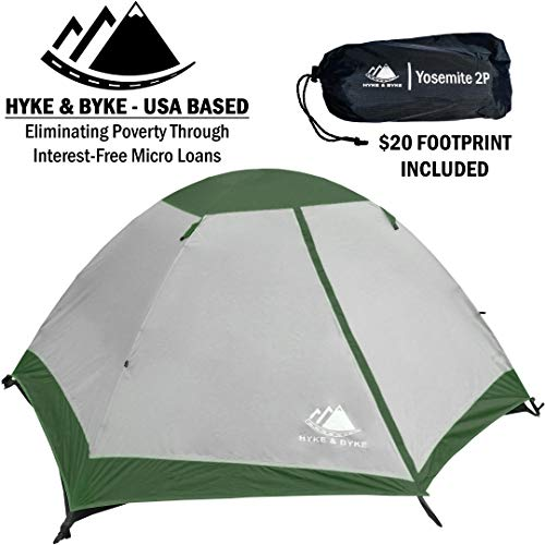 Hyke & Byke Yosemite Backpacking Tent
