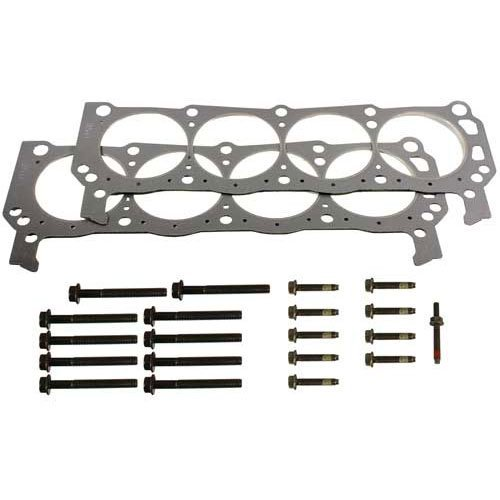 Ford Racing M-6051-D50 Cylinder Head Gaskets; .042 in. Compressed Thickness; 9 short head bolts; 10 long head bolts; 1 short head bolt with (Ford Racing Cylinder Heads)