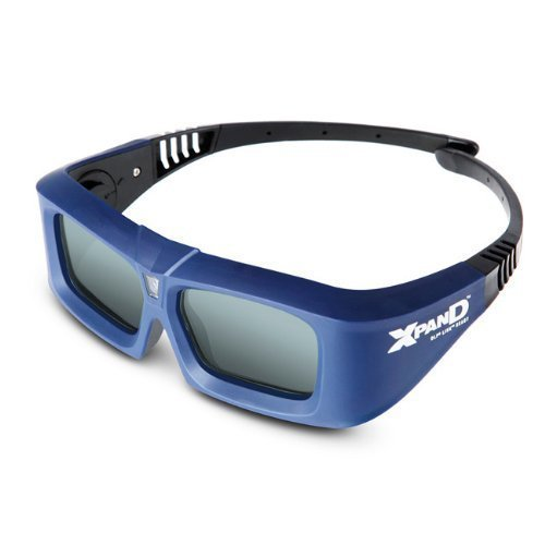 Xpand X102-XP DLP Link Active Shutter 3D Glasses with 1 Battery (Discontinued by Manufacturer)