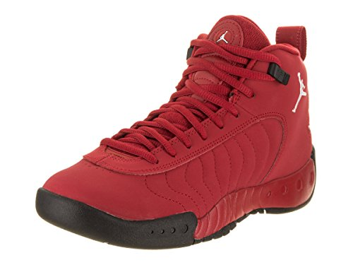 Nike 907973-600 : Kids Jordan Jumpman Pro BG Red/White/Black Basketball Shoe (5 M US Big Kid) (Shoes Jordans Kids)