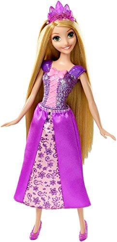 Mattel Disney Sparkling Princess Rapunzel Doll]()