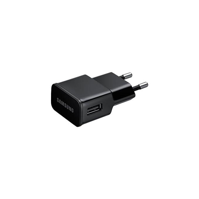 Samsung BT-ETAU90EBE - Cargador de red para Samsung Galaxy Note/Tab/Tab 2 (2 A, incluye cable USB - 30 pin), color negro- Versión Extranjera