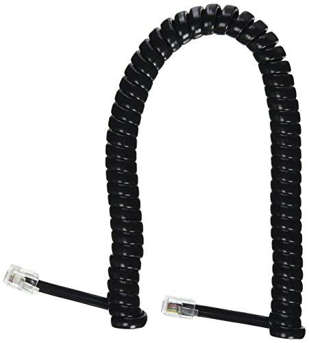 6' Handset Cord GCHA444006-FBK Gloss Black