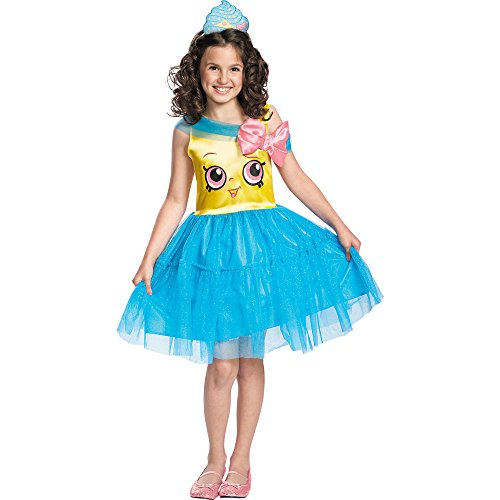 Shopkins Queen Cupcake Classic Costume, One Color, (Halloween Costumes Unique)