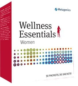 Metagenics Wellness Essentials® Women – Targeted Support for Women's Health* – 30 Daily Packets