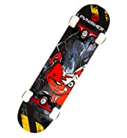 Punisher Teddy Complete Skateboard, Black, 31-Inch from PUNISHER