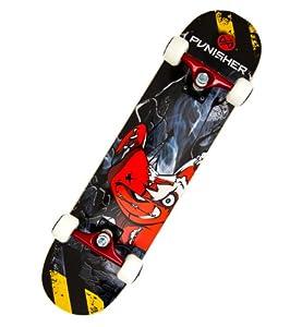 Punisher Teddy Complete Skateboard, Black, 31-Inch from PUNISHER