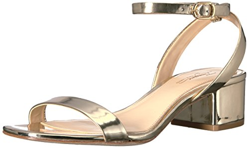 Föreställa Vince Camuto Vince Camuto Womens Bavel Krängt Sandal Mjuk Guld