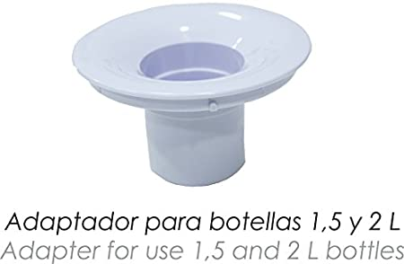 Bastilipo Riofrio Dispensador de Agua Fría, 65 W, 7 litros, Plástico, Blanco: Amazon.es: Hogar