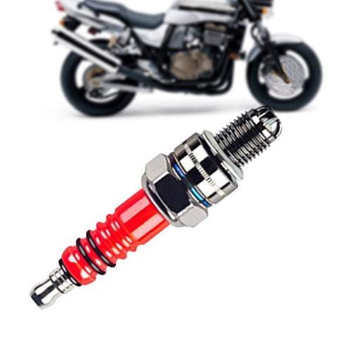 Panel Switch High Performance Energy Efficient Three-Electrode Spark Plug for ATV Motorcycles