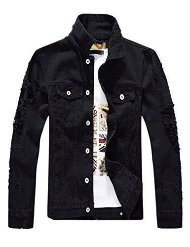 Black Casual Mens Jacket - 6