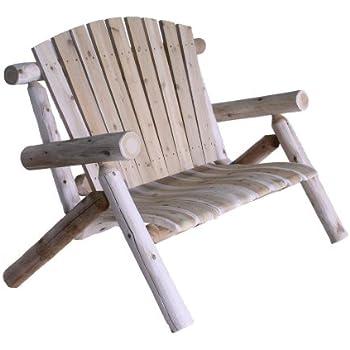 Amazon Com Lakeland Mills Cedar Log Lounge Chair