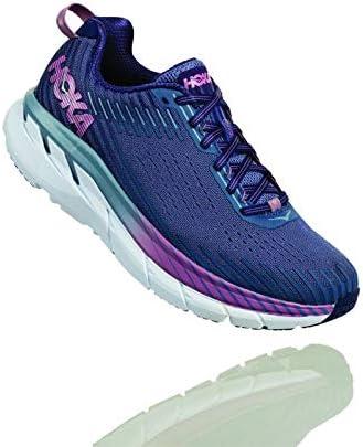 HOKA – Zapatillas Running Clifton 5 Mujer, Morado, 41 1/3: Amazon.es: Deportes y aire libre