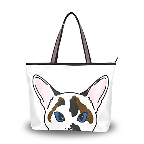 Women's Tote Bag With Cute...