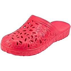 Women's Rubber Garden Sandals Clogs Shoes for Lawn