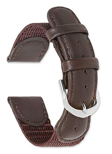 Swiss Army Watch Band Brown 18MM