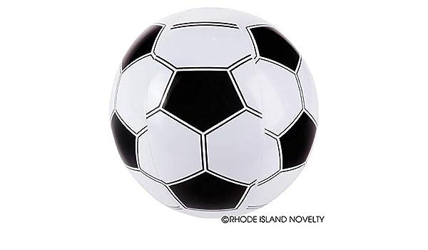 Juego de 6 pelotas de fútbol hinchables (16