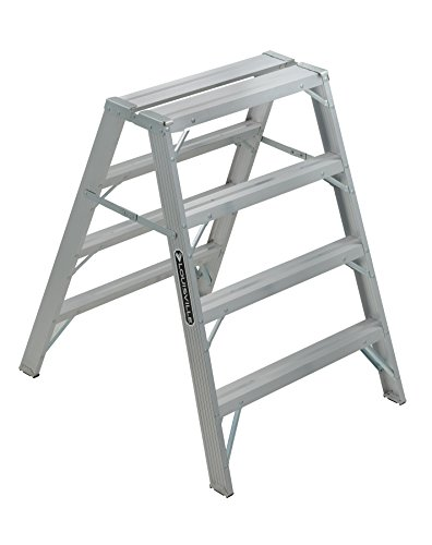 Louisville Ladder L-2032-04 Sawhorse, Aluminum, 4 Foot