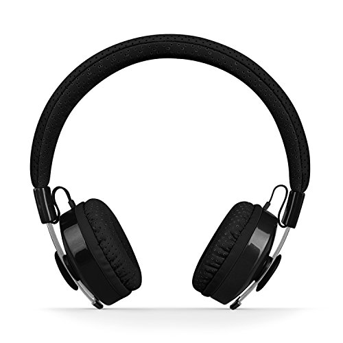 LilGadgets Untangled PRO Kids Premium Wireless Bluetooth Headphones with SharePort (Children) - Black